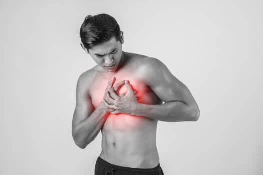 Chest Pain While Slouching
