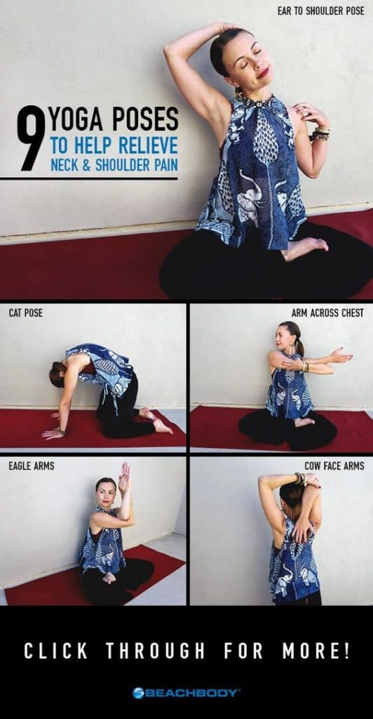 9 Yoga poses to help relieve Neck and shoulder pain