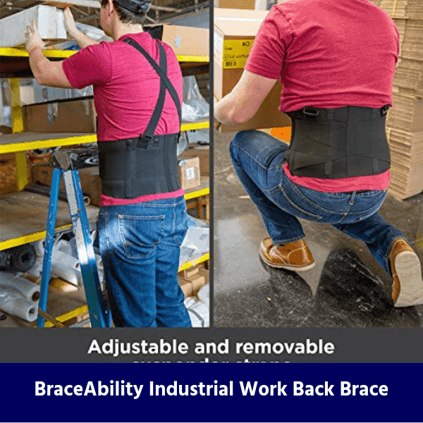 BraceAbility Industrial Work Back Brace review
