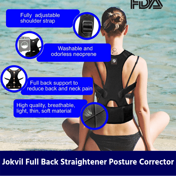 Jokvil Full Back Straightener Posture Corrector review