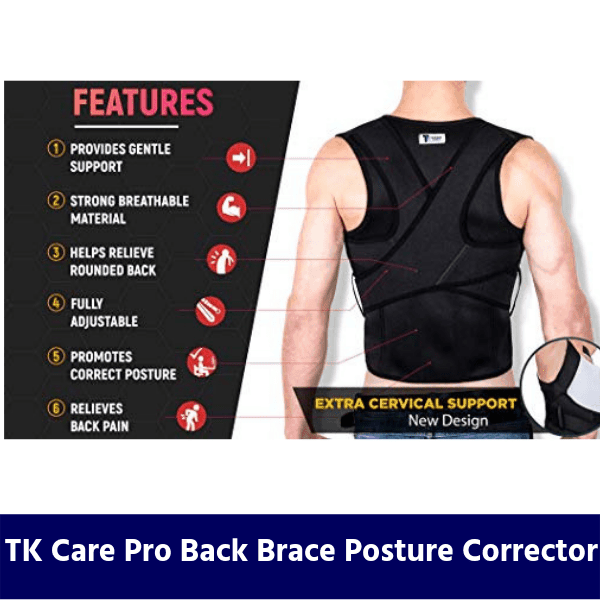 TK Care Pro Back Brace Posture Corrector review