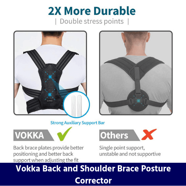 Vokka Back and Shoulder Brace Posture Corrector review