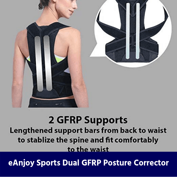 eAnjoy Sports Dual GFRP Posture Corrector review