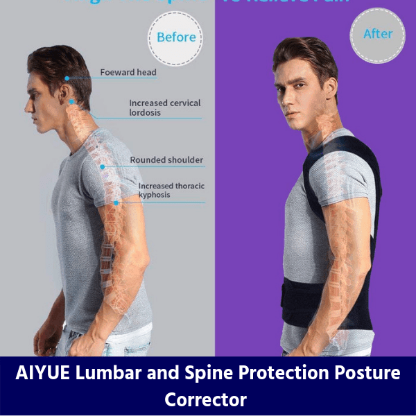 AIYUE Lumbar and Spine Protection Posture Corrector review